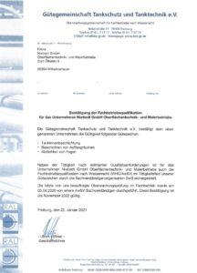 Gütegemeinschaft Tankschutz und Tanktechnik e.V.