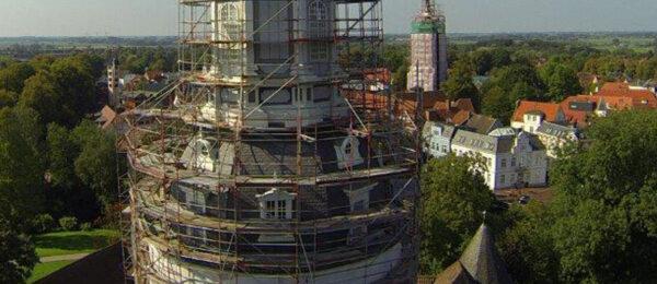 Sondergerüst für Schlossrenovierung