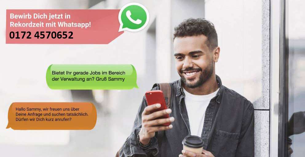 WhatsApp Bewerbung Betonbauer