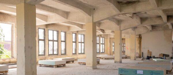 Betoninstandsetzung und Fassadenarbeiten unter Denkmalschutz