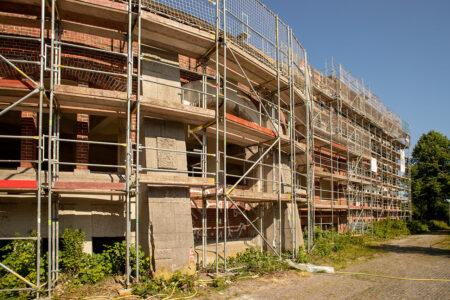 Fassadensanierung unter Denkmalschutz