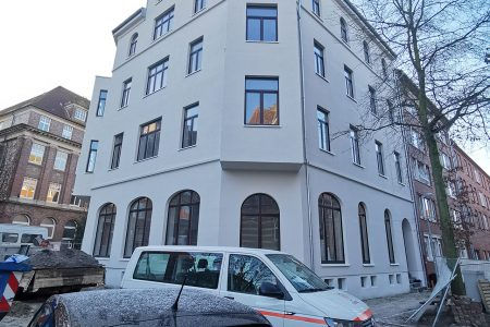 Sanierung des denkmalgeschützes Hauses am Emder Schweckendieckplatz
