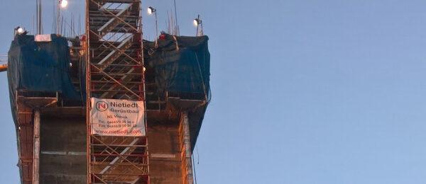 Treppenturm für Schälmühlenwerk