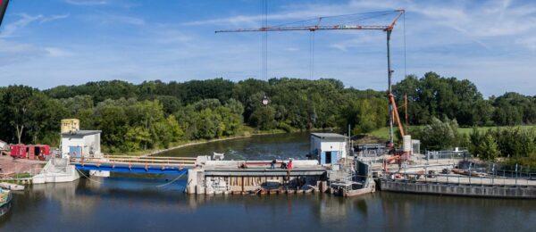 Instandsetzung eines Wasserbauwerks