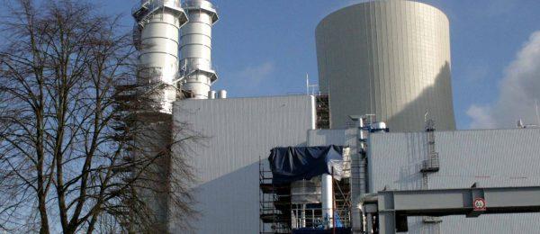 Spezieller und industrieller Korrosionsschutz für Gaskraftwerk