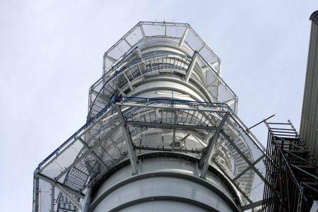 Atmosphärischer Korrosionsschutz für Abgaskamine